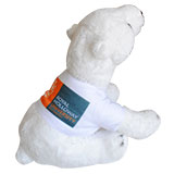 INACTIVE Small Polar Bear with T-Shirt